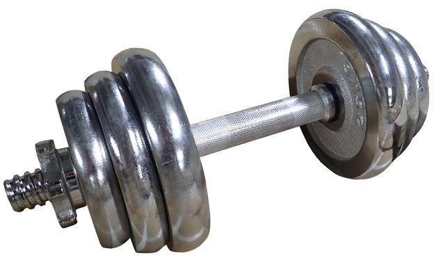 Činka nakladacia, jednoručná, chrómová - 12 kg