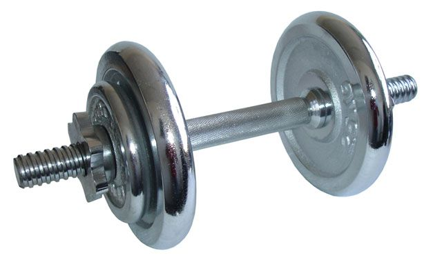 Činka nakladacia, jednoručné, chrómová - 8,5 kg