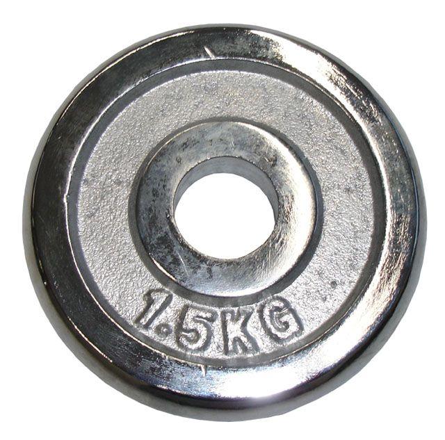 Kotúč chróm 1,5 kg - 30 mm