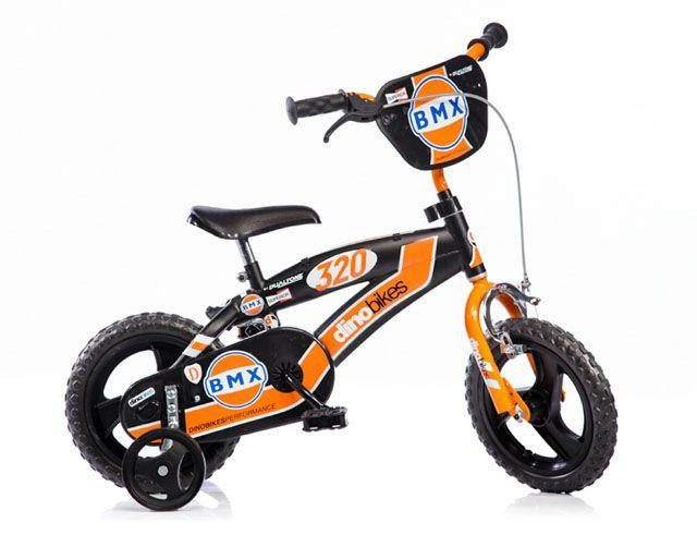 CorbySport Dino 6467 Dětské kolo BMX černá 12