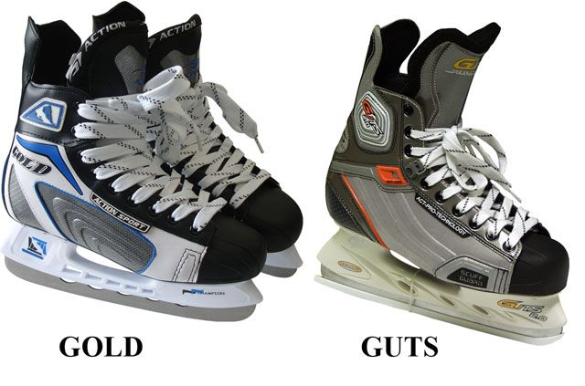 Hokejové korčule chlapčenské, veľ. 38