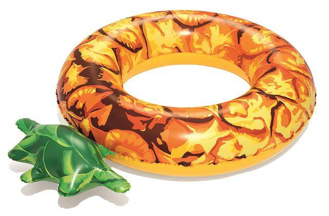 Nafukovacie koleso ananás - 116 cm