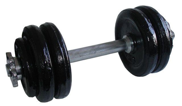 Jednoručná nakladacia činka - 15 kg
