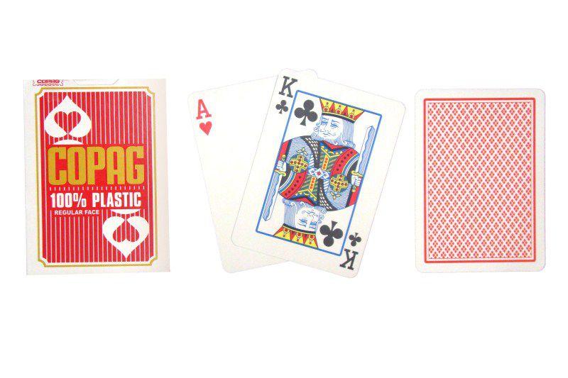 Poker karty Copag Regular 2 rohy červené