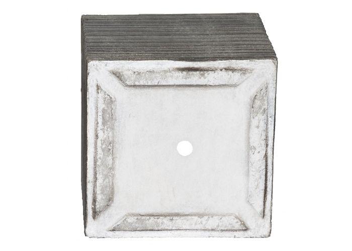 Kvetináč G21 Stone Cube 36,5x36,5x34,5cm