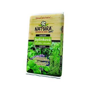 Substrát Agro  NATURA bylinková zahrádka 10l