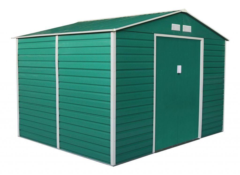 G21 Záhradný domček GAH 529 - 277 x 191 cm, zelený