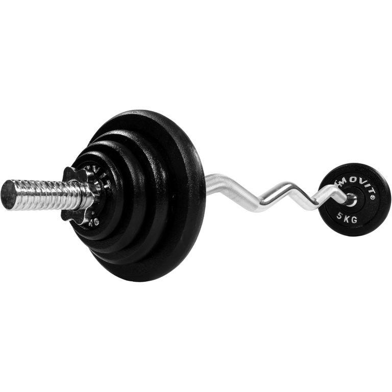Činkový set Profi 26 kg - činka + závažie