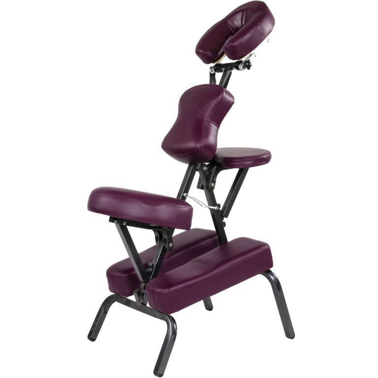 f03fa7da4c8e Masážne stoličky MOVIT skladacie vínová 8