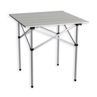 Záhradný hliníkový skladací stôl 70 x 70 cm