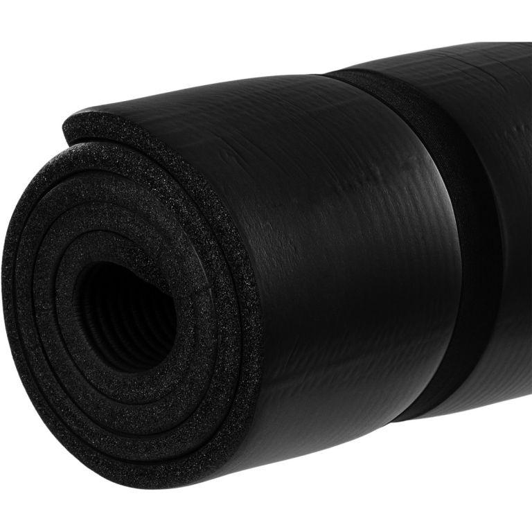 Podložka na jógu MOVIT 190 x 100 x 1,5 cm - čierna
