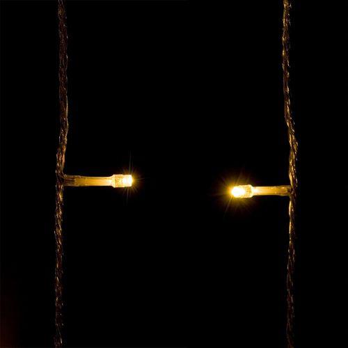 Vianočné LED osvetlenie 60 m - teplá biela 600 LED