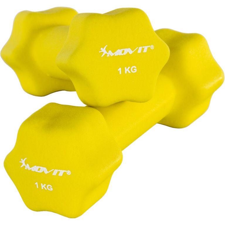 Set 2 činiek s neoprénovým povrchom 1 kg MOVIT