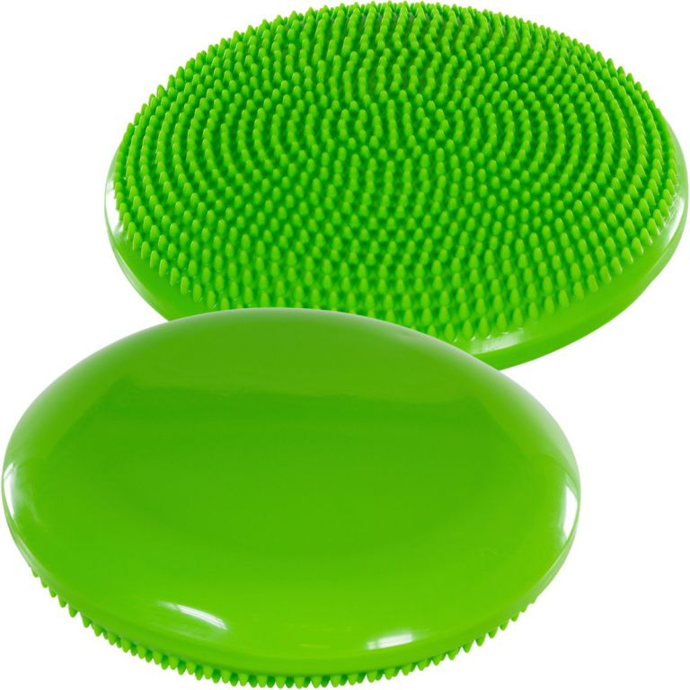 Balančný vankúš na sedenie MOVIT 33 cm, zelený