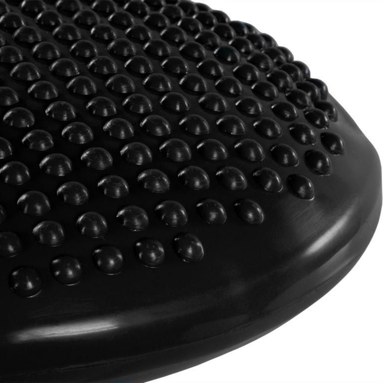 Balančný vankúš na sedenie MOVIT 37 cm, čierny