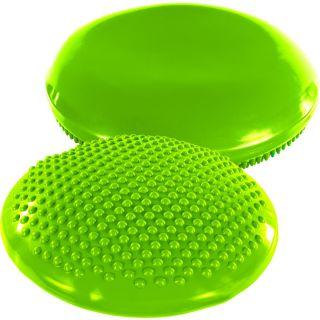 Balančný vankúš na sedenie MOVIT 37 cm, zelený
