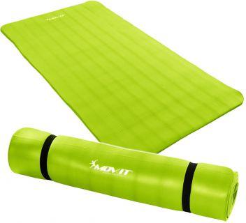 Podložka na jógu MOVIT 190 x 100 x 1,5 cm svetlo zelená
