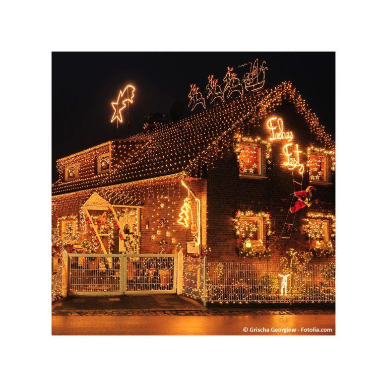 Vianočné LED osvetlenie 10 m - teplá biela 100 LED - zelený kábel