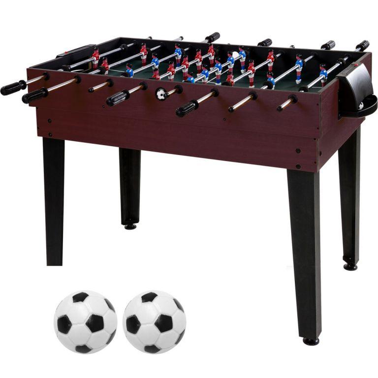 Multifunkčný herný stôl 15 v 1 - tmavohnedý