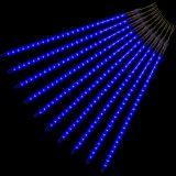 Vianočné LED osvetlenie - padajúci sneh - 480 LED modrá