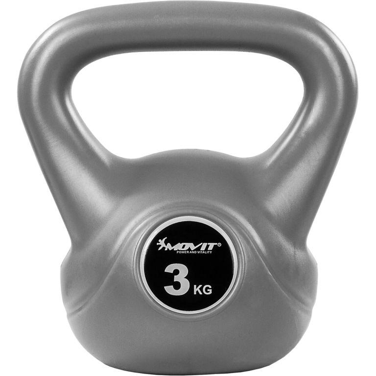 Kettlebell činka sivá - 3 kg