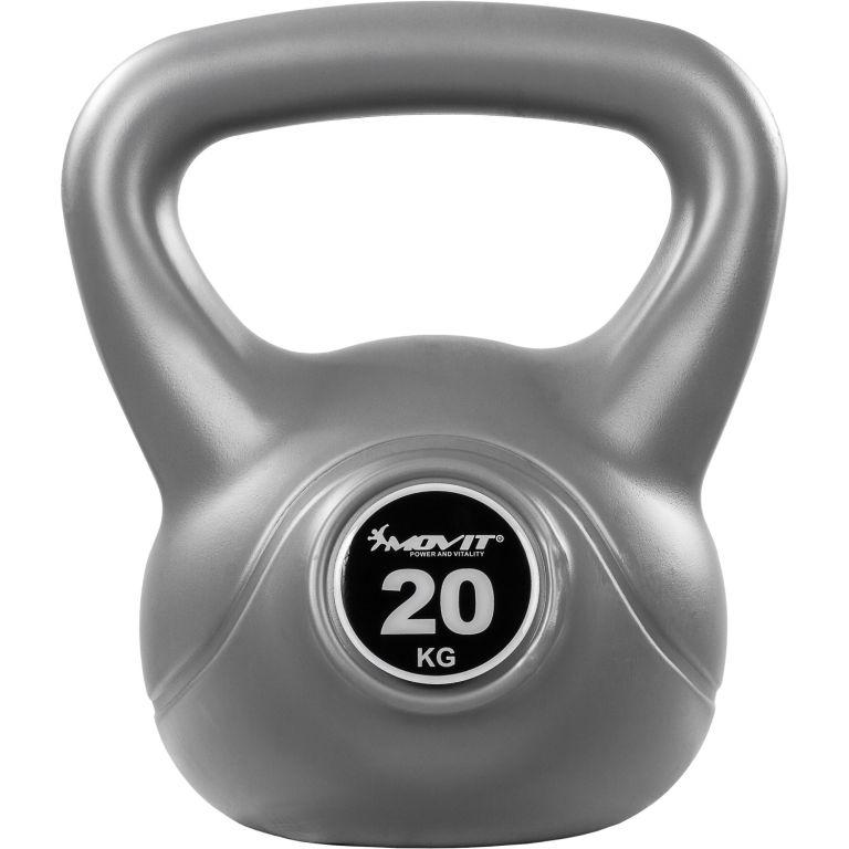 Kettlebell činka sivá - 20 kg