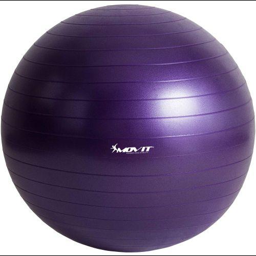 Gymnastická lopta MOVIT - fialová, 75 cm