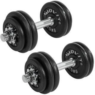 Profesionálna sada činiek MOVIT s celkovou hmotnosťou 30 kg
