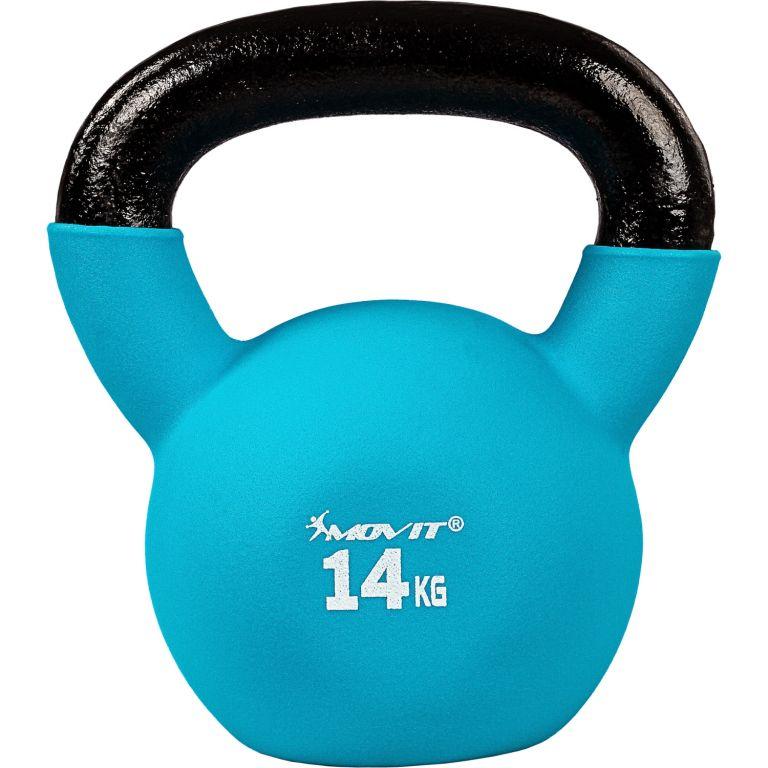 Kettlebell činka MOVIT - 14 kg