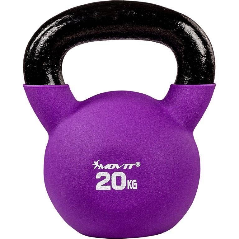 Kettlebell činka MOVIT - 20 kg