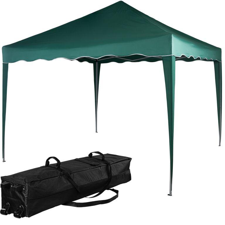 INSTENT BASIC záhradný párty stan - 3 x 3 m, zelený