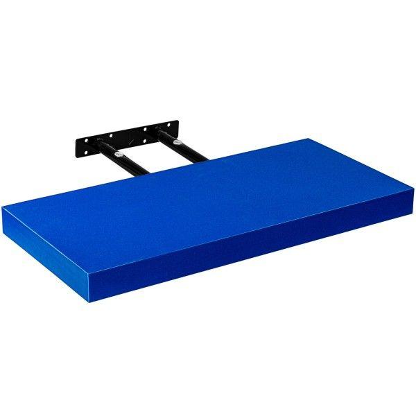 STILIST nástenná polica VOLATO, 60 cm, modrá