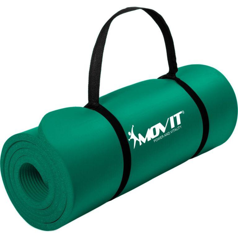 Podložka na cvičenie MOVIT 190 x 60 x 1,5 cm - zelená