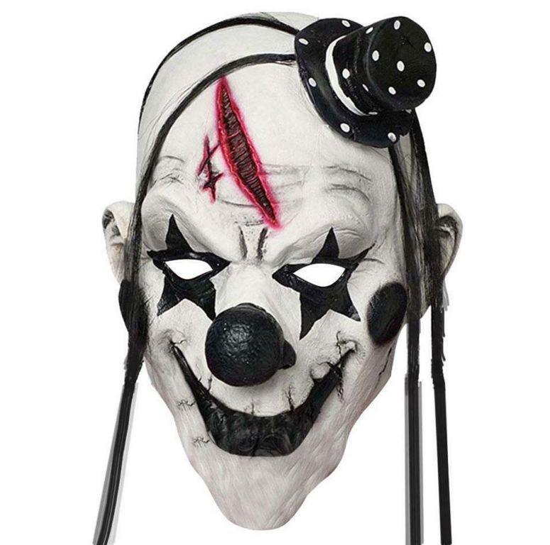 Halloweenska maska - klaun