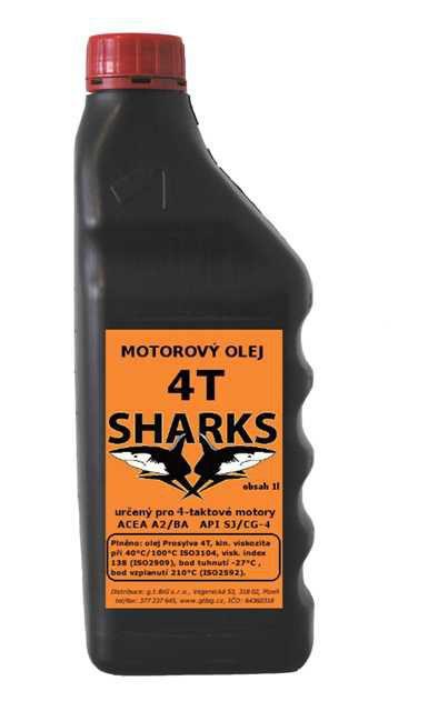 Olej Sharks 4T