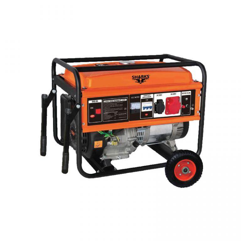 Benzínový generátor SH 6500-F