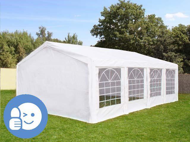 Záhradný párty stan CLASSIC 5 x 8 m - biela