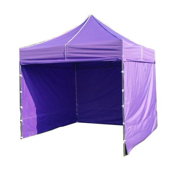 Záhradný párty stan PROFI STEEL 3 x 3 - fialová
