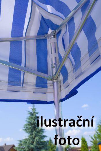 Záhradný párty stan PROFI STEEL 3 x 4,5 - fialová