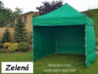 Záhradný párty stan PROFI STEEL 3 x 4,5 - zelená