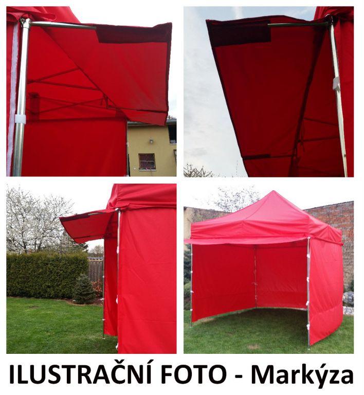 Záhradný párty stan PROFI STEEL 3 x 6 - maskáčová