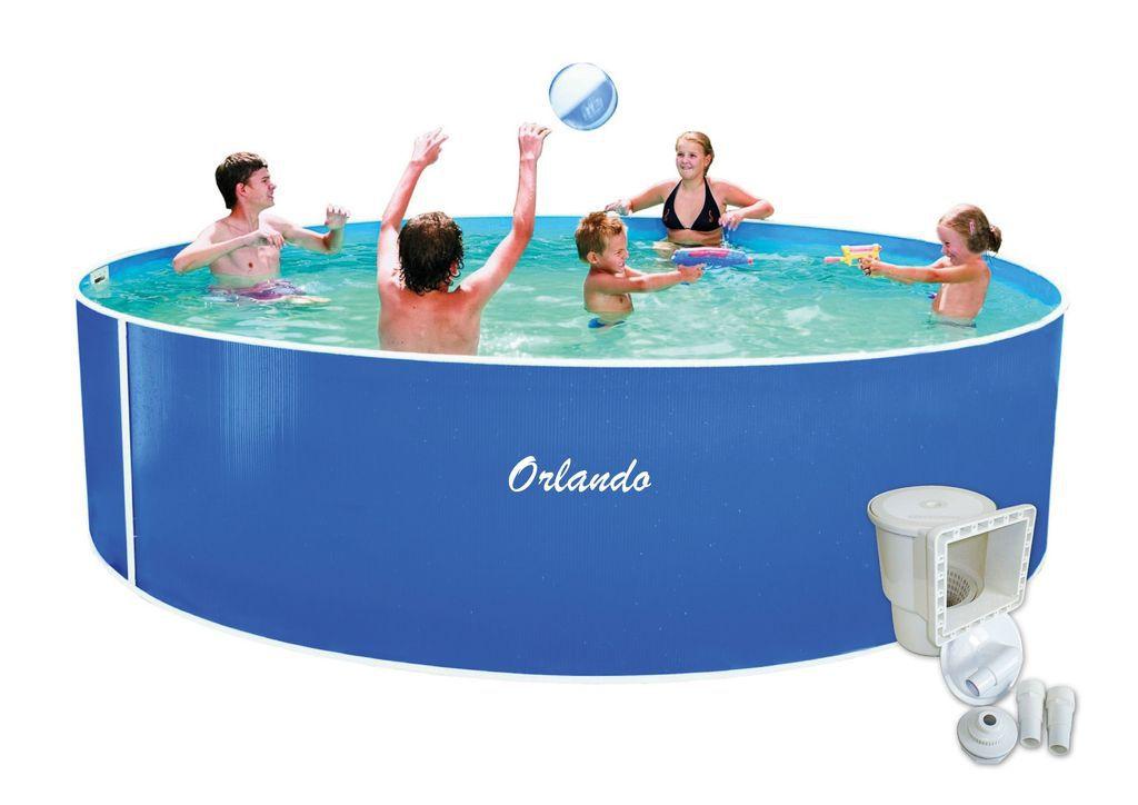 Bazén Orlando 4,57 x 1,07 m + skimmer Olympic
