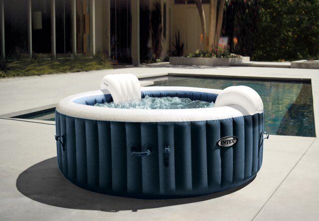 Bazén vírivý nafukovací Pure Spa - Bubble HWS MODRÝ