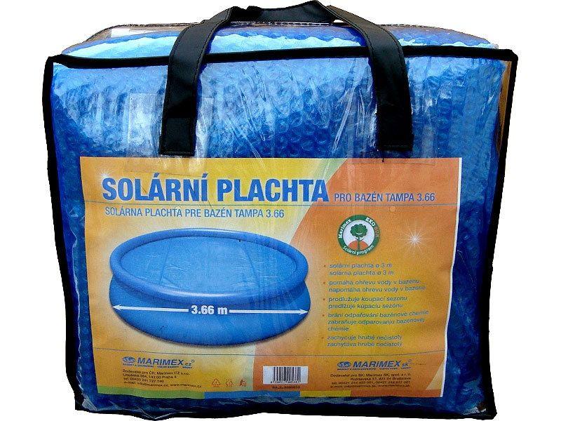 Solárna plachta modrá - priemer 3,66 m