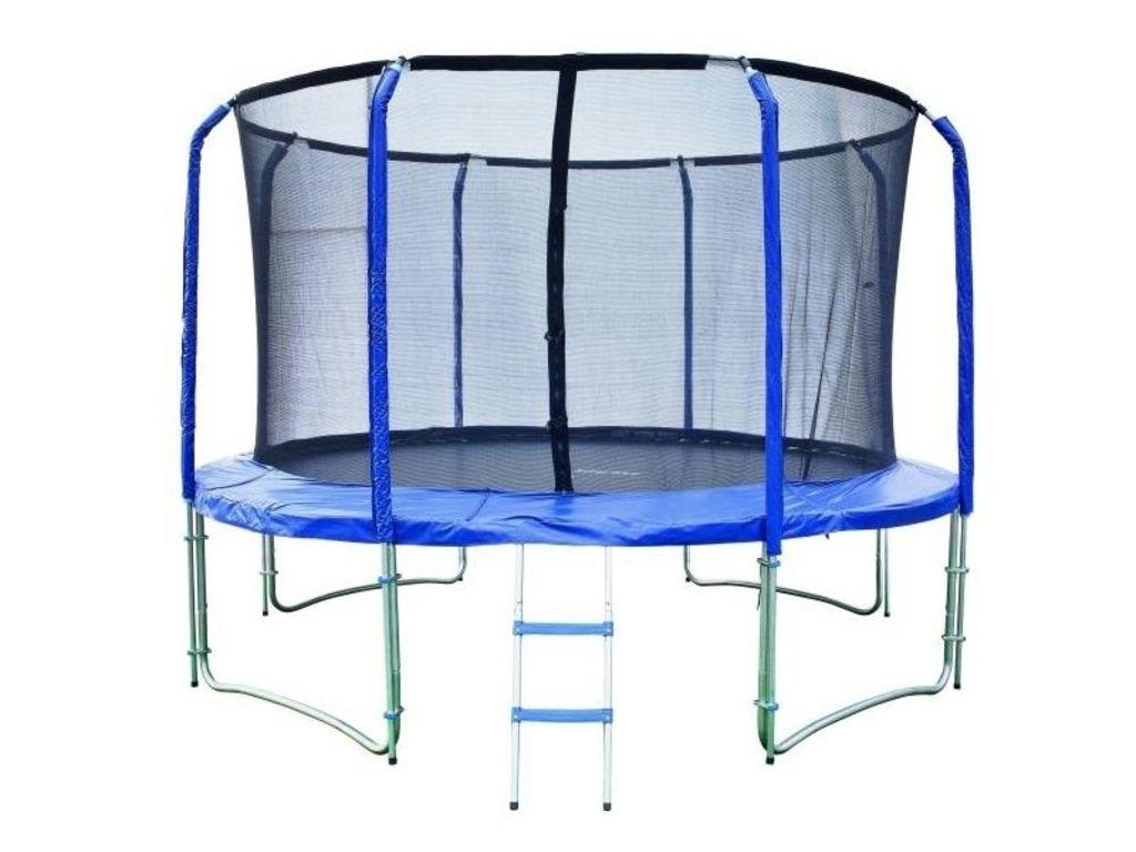 Trampolína 457 cm + vnútorná ochranná sieť + rebrík ZADARMO