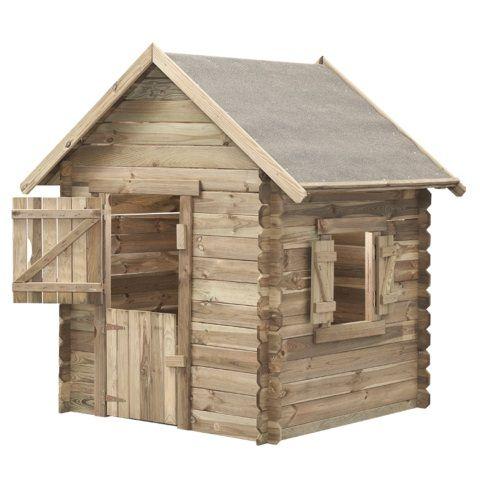 Domček detský drevený, Western