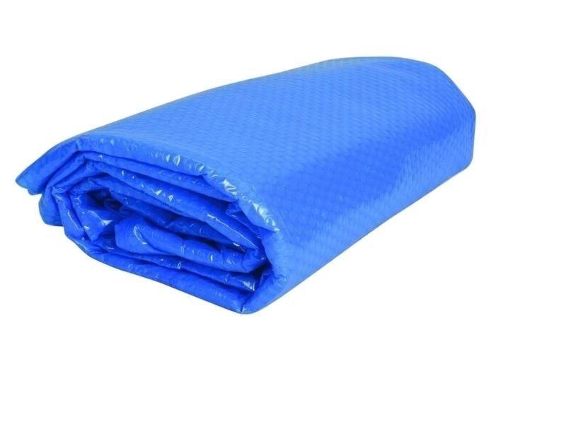 Solárna plachta pre bazén Tampa, priemer 155 cm, modrá