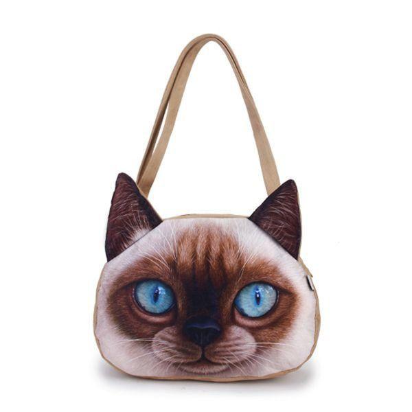 Kočičí kabelka přes rameno