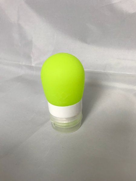 Cestovní silikonová lahvička na tekutiny - Obsah: 60 ml