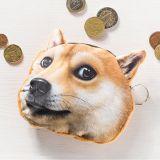 Psí peněženka na drobné - pes zrzavý